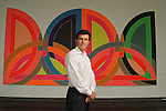 """Menil director Josef Helfenstein in the lobby outside the exhibit """"Experiments with Truth: Ganhi and Images of Nonviolence"""" Monday Sept. 22, 2014.(Dave Rossman photo)"""