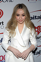 NEW YORK, NY - DECEMBER 8: Sabrina Carpenter at Z100's Jingle Ball 2017 at Madison Square Garden in New York City, Credit: John Palmer/MediaPunch /nortephoto.com NORTEPHOTOMEXICO