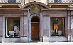 Italien, Piemont, Alessandria: Borsalino - traditionsreiches Hutgeschaeft in der Corso Roma 20   Italy, Piedmont, Alessandria: Borsalino - traditional hat manufacturer and shop at Corso Roma 20