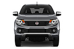Car photography straight front view of a 2017 Fiat Fullback Pack-Lusso 4 Door Pickup Front View
