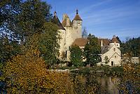 Europe/France/Limousin/23/Creuse/Env Chénérailles: Le Château de Villemonteix