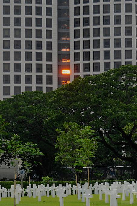 American Cemetery at Fort Bonifacio, Manila Philippines