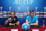JSW Bengaluru FC's Press Conference prior to AFC Cup 2016 Semi-Finals 1st leg match between Johor Darul Ta'zim (MAS) vs JSW Bengaluru FC (IND) at Stadium Tan Sri Dato Hj Hassan Yunos on 27 September 2016, in Johor Bahru, Malaysia. Photo by Simon Yap / Lagardere Sports
