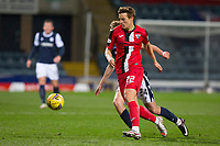27th March 2021; Dens Park, Dundee, Scotland; Scottish Championship Football, Dundee FC versus Dunfermline; Lewis Mayo of Dunfermline Athletic goes past Max Anderson of Dundee