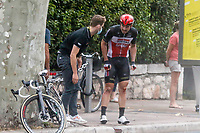 29th August 2020, Nice, France;  DEGENKOLB John (GER) of LOTTO SOUDAL during stage 1 of the 107th edition of the 2020 Tour de France cycling race, a stage of 156 kms with start in Nice Moyen Pays and finish in Nice