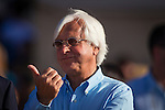 DEL MAR CA - AUGUST 13: Bob Baffert reacts after winning the Best Pal Stakes at Del Mar on August 13, 2016 in Del Mar, California. (Photo by Alex Evers/Eclipse Sportswire/Getty Images)