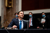 United States Senator Ben Sasse (Republican of Nebraska) speaks during a US Senate Judiciary Committee business meeting to consider authorization for subpoenas relating to the Crossfire Hurricane investigation and other matters on Capitol Hill in Washington, DC on June 11, 2020.<br /> Credit: Erin Schaff / Pool via CNP/AdMedia