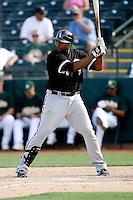 Brandon Allen -  Chicago White Sox - 2009 spring training.Photo by:  Bill Mitchell/Four Seam Images