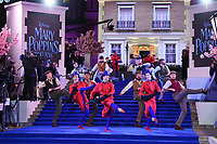 """performers<br /> arriving for the """"Mary Poppins Returns"""" premiere at the Royal Albert Hall, London<br /> <br /> ©Ash Knotek  D3467  12/12/2018"""