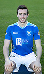 St Johnstone FC Photocall….2018/19 Season<br />Joe Shaughnessy<br />Picture by Graeme Hart.<br />Copyright Perthshire Picture Agency<br />Tel: 01738 623350  Mobile: 07990 594431