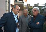 PIERLUIGI BATTISTA, GIACOMO MARRAMAO E ALBERTO ASOR ROSA<br /> PREMIO LETTERARIO CAPALBIO 2004