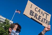 2020/05/30 Politik | Berlin | George Floyd | Protest vor US-Botschaft