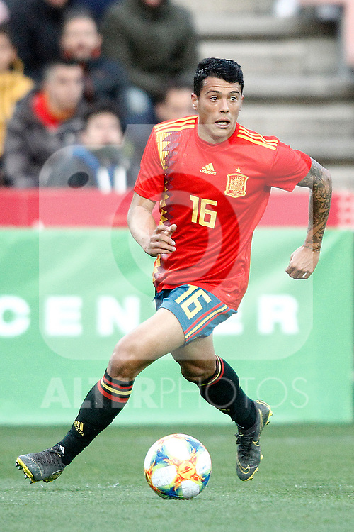 Spain's Pedro Porro   during the International Friendly match on 21th March, 2019 in Granada, Spain. (ALTERPHOTOS/Alconada)