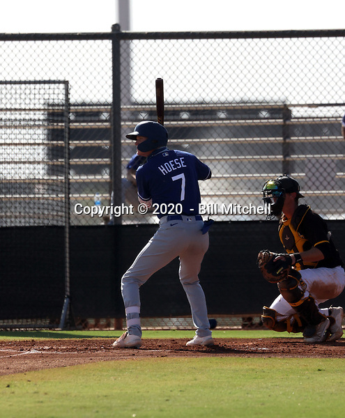 Kody Hoese - 2020 AIL Dodgers (Bill Mitchell)