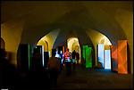 I sotterranei degli Appartamenti dei Principi, a Palazzo Carignano