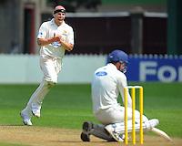 101123 Plunket Shield Cricket - Wellington v Otago