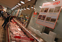 Supermercato Coop. Coop supermarket...