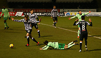 10th February 2021; St Mirren Park, Paisley, Renfrewshire, Scotland; Scottish Premiership Football, St Mirren versus Celtic; Greg Taylor of Celtic goes down in the box and wins a penalty for Celtic