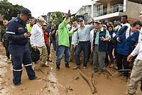MOCOA - COLOMBIA, 01-04-2017 Aspecto de la tragediá ocurrida ayer, 31 marzo de 2017, en la ciudad de Mocoa al sur de Colombia. El desbordamiento de tres ríos y una avalancha de lodo y piedra que se presentaron en la noche de este viernes, han dejado 176 personas fallecidas y más de 200 heridos. / Aspect of the tragedy happened yesterday, 31 of March 2017, in the city of Mocoa in southern Colombia. The flood of three rivers and an avalanche of mud and stone that appeared on the night of this Friday, have left 176 people dead and more than 200 injured. Photo: VizzorImage /  César Carrión - SIG / HANDOUT PICTURE; MANDATORY EDITORIAL USE ONLY/ NO MARKETING, NO SALES