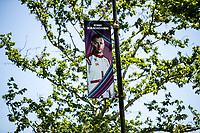 3rd June 2021; Baku, Azerbaijan;  RAIKKONEN Kimi (fin), Alfa Romeo Racing ORLEN C41 banner during the Formula 1 Azerbaijan Grand Prix 2021 at the Baku City Circuit, in Baku, Azerbaijan
