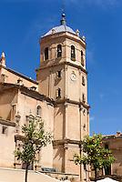 San Patricio an der Plaza Mayor  in Lorca,  Provinz Murcia, Spanien, Europa