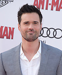 """Brett Dalton attends The Premiere Of Marvel's """"Ant-Man"""" held at The Dolby Theatre  in Hollywood, California on June 29,2015                                                                               © 2015 Hollywood Press Agency"""