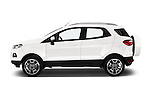 Car Driver side profile view of a 2015 Ford ECOSPORT TITANIUM 5 Door SUV Side View