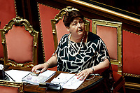 Teresa Bellanova<br /> Rome September 10th 2019. Senate. Discussion and Trust vote at the new Government. <br /> Foto  Samantha Zucchi Insidefoto