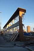 2014-12-02 BENEAST Training Centre Demolition Blackpool