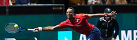 Rotterdam, The Netherlands, 15 Februari 2020, ABNAMRO World Tennis Tournament, Ahoy,<br /> Mens Single Final: Gaël Monfils (FRA).<br /> Photo: www.tennisimages.com