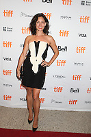 NATALIE BROWN - RED CARPET OF THE FILM 'THE TERRY KATH EXPERIENCE' - 41ST TORONTO INTERNATIONAL FILM FESTIVAL 2016 . 15/09/2016. # FESTIVAL INTERNATIONAL DU FILM DE TORONTO 2016