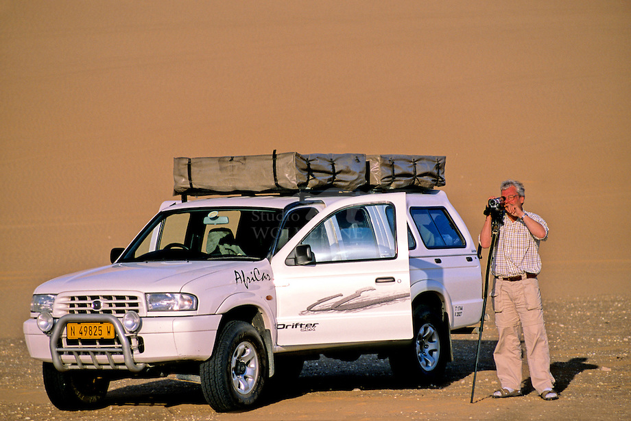 Expeditie Namibische zandduinen