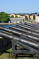 Bastion Kungshall auf Stumholmen in Karlskrona, Provinz Blekinge, Schweden, Europa, UNESCO-Weltkulturerbe<br /> Bastion Kungshall on Sturmholmen in Karlskrona, Province Blekinge, Sweden