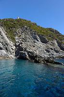 Isola di Gorgona. Gorgona island....