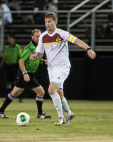 The Winthrop University Eagles beat the UNC Asheville Bulldogs 4-0 to clinch a spot in the Big South Championship tournament.  Magnus Thorsson (8)