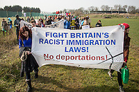 12.03.2016 - Shut Down Yarl's Wood I.R.C. - Protest at the Immigration Removal Centre