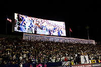 CARSON, CA - MARCH 07: Los Angeles Galaxy fans during a game between Vancouver Whitecaps and Los Angeles Galaxy at Dignity Health Sports Park on March 07, 2020 in Carson, California.