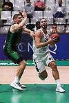 TDAYS EuroCup 2020-2021.Round 1.<br /> Joventut Badalona vs Partizan NIS Belgrado: 85-82.<br /> Conor Morgan vs Nikola Jankovic.