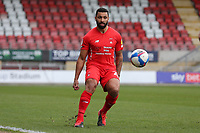 Jamie Turley of Leyton Orient during Leyton Orient vs Oldham Athletic, Sky Bet EFL League 2 Football at The Breyer Group Stadium on 27th March 2021