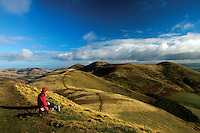 East Kip and Scald Law from West Kip, The Pentland Hills, The Pentland Hills Regional Park, Lothian