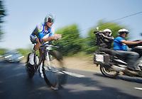 Simon Gerrans (AUS)<br /> <br /> Tour de France 2013<br /> stage 11: iTT Avranches - Mont Saint-Michel <br /> 33km