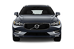 Car photography straight front view of a 2020 Volvo XC60 Inscription 5 Door SUV Front View