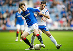 Rangers v St Johnstone....27.02.11 .Sasa Papac and Danny Incincibile.Picture by Graeme Hart..Copyright Perthshire Picture Agency.Tel: 01738 623350  Mobile: 07990 594431