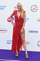Donna Vekic<br /> arriving for the Tennis on the Thames WTA event in Bernie Spain Gardens, South Bank, London<br /> <br /> ©Ash Knotek  D3412  28/06/2018