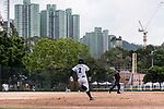 #2 Ogata Yuka of Japan runs after bating during the BFA Women's Baseball Asian Cup match between Japan and Hong Kong at Sai Tso Wan Recreation Ground on September 5, 2017 in Hong Kong. Photo by Marcio Rodrigo Machado / Power Sport Images