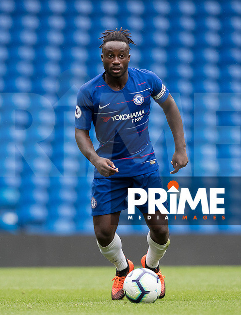 Fankaty Dabo of Chelsea during the Premier League 2 match between Chelsea U23 and Everton U23 at Stamford Bridge, London, England on 12 August 2018. Photo by Andy Rowland.
