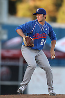 Garrett Williams participates in the Area Code Games at Blair Field on August 5, 2012 in Long Beach, California. (Larry Goren/Four Seam Images)