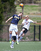 The UNC Greensboro Spartans played the University of South Carolina Gamecocks in The Manchester Cup on April 5, 2014.  The teams played to a 0-0 tie.  Brian Graham (5), Braeden Troyer (13)