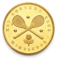 BNPS.co.uk (01202) 558833. <br /> Pic: GrahamBudd/BNPS<br /> <br /> It's coming home..<br /> <br /> Fred Perry's historic 1936 Wimbledon winner's gold medal will go on display at the Lawn Tennis Museum after they spent £24,000 to bring it home.<br /> <br /> The legendary sportsman was the last Brit to win the Wimbledon men's singles for 77 years until Andy Murray's triumph in 2013.
