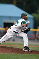 Southwest Michigan Devil Rays Eduardo DeLaCruz during a Midwest League game at C.O. Brown Stadium on July 14, 2006 in Battle Creek, Michigan.  (Mike Janes/Four Seam Images)